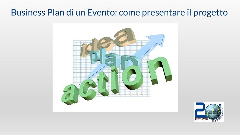 Business Plan di un evento