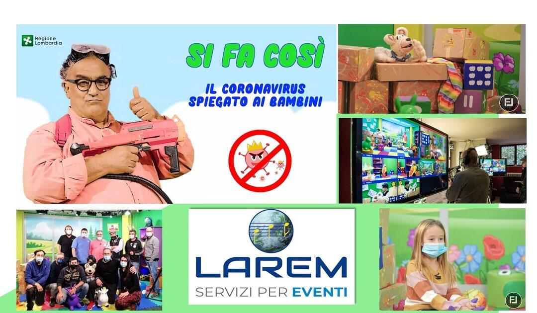 Campagna Covid-19 per Regione Lombardia